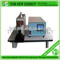 de metal por ultrasonidos máquina de soldadura para la batería ev ficha electrodo de montar