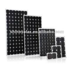 off grid solar system mono crystal solar panel 270w