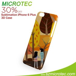 New Sublimation Blank 3D Cell Phone Cases For iPhone 6 Plus