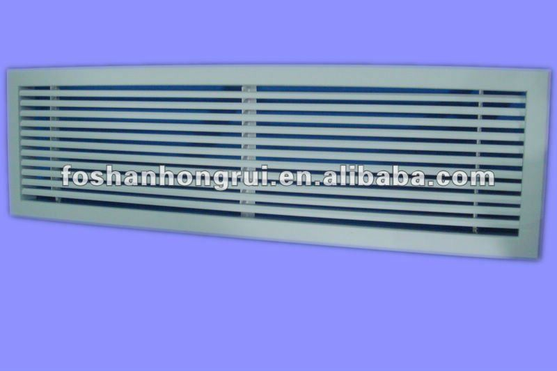 Linear Bar Diffuser : Degree linear bar plastic revocable diffuser for air