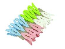 acutilingual plastic clothes clips 12pcs