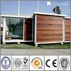 Modular Demountable Sandwich Panel Luxury Container House Wooden