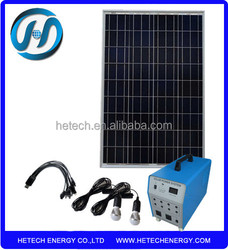 stock clearance 60w portable solar system for home