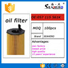 high quality oil filter auto spare parts 057 115 561k