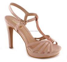 Ankle strap stiletto fashion shoes Bridal Comfert Shoes Euro Size 35-41