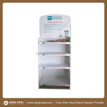 Market beauty product promotion cardboard display