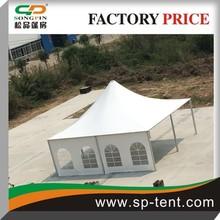 2014 Pop designs in outdoor wedding party garden backyard big pagoda garden prefab tent 10x10m With lining