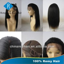 Wholesale Price Top Qualtiy Shedding Free No Tangle Unprocessed Full Cuticle glueless silk top full lace wig
