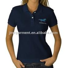 2012 embroidery Women's cotton polo shirts