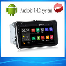 8inch Capacitive full touch screen Android 4.4 Car Multimedia Navigation for VW Passat Jetta Passat Golf Touran Polo