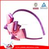 2015 Cute hair ribbon band/Baby Girl Flower Hair ribbon Bands Grosgrain Ribbon Bows