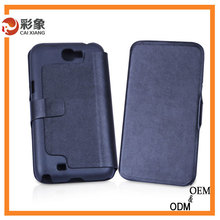 2015 classic business leather cover for samsung galaxy note 2 N7100 cases