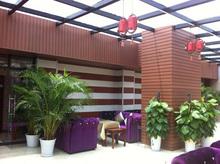 Alta Calidad WPC cubierta decorativa de techo