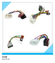 Replaceable automotive DVD radio ISO cable wire hanress suitable for Honda manufacture