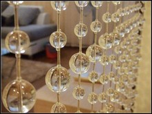 crystal bead curtain for wedding occasion decoration