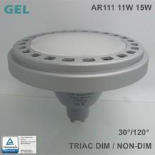 high lumen high cri dimmable 15W 120 degree GU10 LED AR111 QR111 ES111