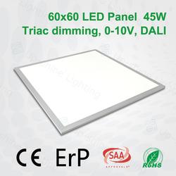 Dimmable led panel Dali,0-10V,Triac compatible big led panel light