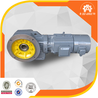 Helical Bonfiglioli K series 4: 1 ratio gearbox for transmission
