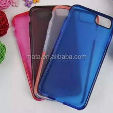 New product scrub plastic back cover pc+tpu phone case for iphone 6 plus