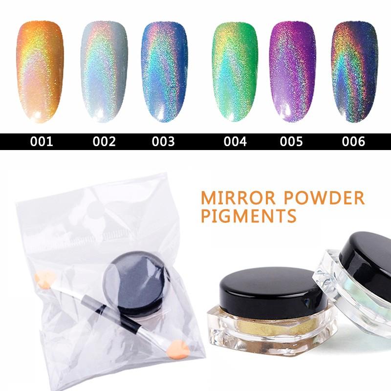 Nail miroir magique poudre effet poudre pigment pour for Miroir magique production