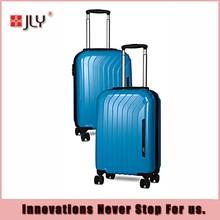 Jialiya colorfull hard shell travel luggage/luggage trolley/eminent luggage custom logo style