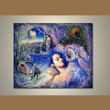 el más nuevo hecho a mano moderna desnudo clásico pinturas de las mujeres