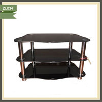 picture of iron stand cabinet entertainment tv cabinet design in living room ZL034