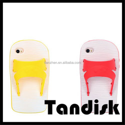 Slippers Rubber Phone Cases for IPhone 5