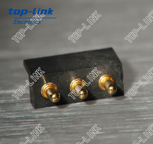 3 pin mobile phone pogo pin battery connector