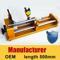 high accuracy 500mm length 0.002mm concentricity tester