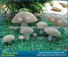 hot sale stone mushroom garden decor