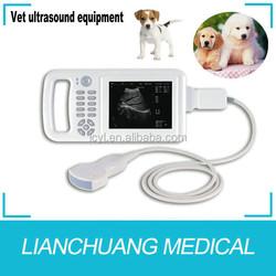 Portable veterinary ultrasound scanner for sheep, bovine, pig