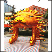 NB-CT302 height 6m whole sale inflatable lion head tunnel for advertising\sports event