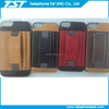 portable leather tpu cellphone case,two card slots,new design,useful for many models