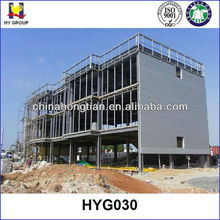 Three Storeys Prefabricated Building for L16m*W30m*H12m