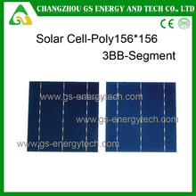 156x156mm good efficiency cheap photovoltaic price for High Quality 156mm Poly Solar Cell