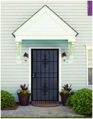 Professional steel-wood security door with low price