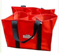 custom design non woven fabric bag for wine
