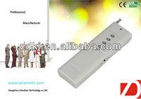 Remote key for car/home alarm garage door opener