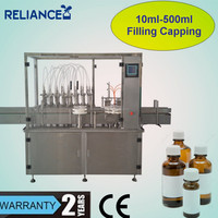 R-VF 500ml saline sterile eye wash bottle filling labeling machine