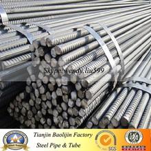 GB HRB400 HRB500 BS4449 ASTM A615 GR40 GR60 Hot Rolled Steel Rebar