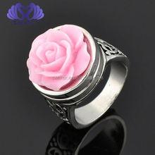 New Design Ladies' Finger Ring Alloy Button Ring Men Ring Model