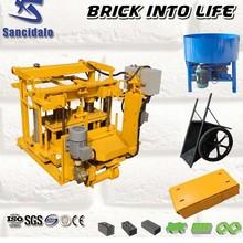 QT40-3A brick machine for myanmar brick making machine price