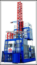 human and material hoist for construction with speed of 0~96m/min