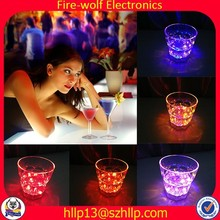Bar Decoration Liquid Activated LED Flashing Cup Colorful Light Glow LED Cup
