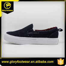 High Quality Casual Style Wholesale Man's Cheap Canvas Shoes