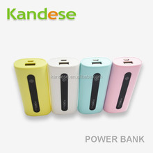 Made in china 5600mah Power Bank Portable Powerbank External Battery 18650 Mobile Phone Charger for mobile phone