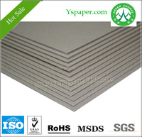 Composite recycled grey board properties