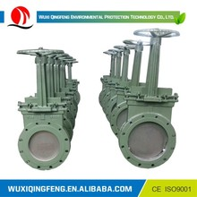 QF Non-rising stem knife gate valve