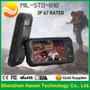 Most Rugged IP67 Quad Core Android 4.2 3G 2 Sim1G+4G Wifi Dust Splash Proof 5MP+0.3MP Rugged AT&T unlocked Phone
